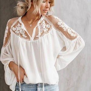 LE MARAIS • PARIS • Boho - festival blouse lined